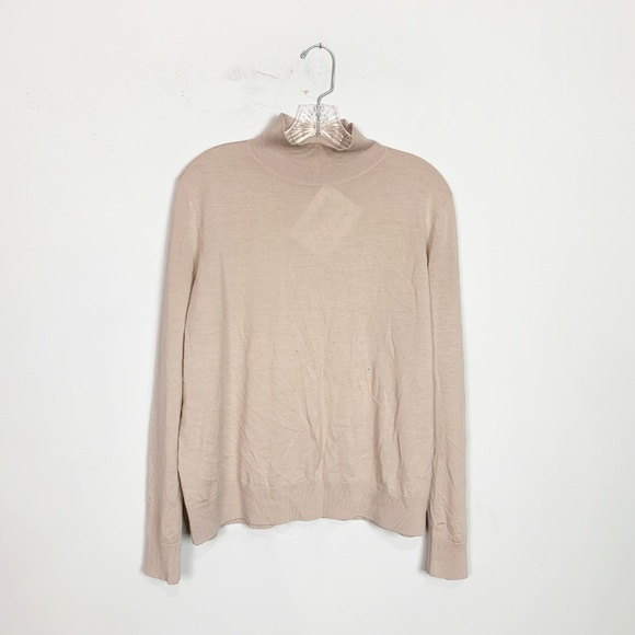 COS Sweaters - COS | turtle neck long sleeve sweater medium pink